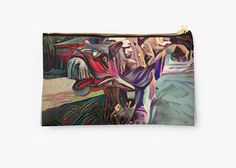 """Dinosaurus painting"" Studio Pouches by siwabudda 