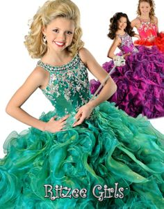 Blush Kids Inc. - Ritzee Girls 6568   Pageant Dress For Girl, $698.00 (http://www.blushkids.com/ritzee-girls-6568-pageant-dress-for-girl/)
