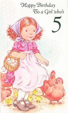 Vintage Birthday Cards, Vintage Cards, Sara Kay, Holly Hobbie, Coloring, Teddy Bear, Disney Characters, Rose, Crochet