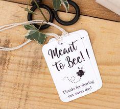 Thank you Tags Wedding Favor Thank you Note Guest Favors Prints #tags #weddingfavors #prints #etsy #meanttobee #cutetag #weddingideas #favorideas #guestfavors