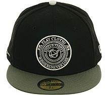 The Hundreds Script NE New Era 59Fifty Fitted Hat Mens Black Olive