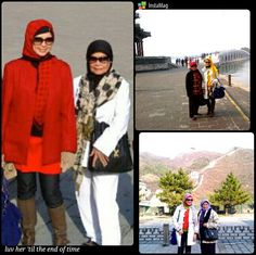 Love for my mom in Beijing