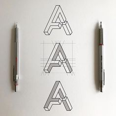 Drawing Design How to draw typography Typography Sketch, Logo Sketches, Typography Letters, Typography Inspiration, Graphic Design Inspiration, Lettering Design, Hand Lettering, Typographie Logo, Hand Drawn Type