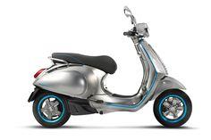 La Vespa Elettrica rappresenta la Piaggio del futuro. La versione elettrica del mezzo a due ruote più famoso del mondo arriverà nel 2018.