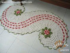 Passadeira de Crochê em Espiral - Aprendendo Croche