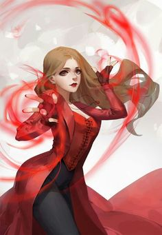 I'm the scarlet witch bitch Marvel Comics, Marvel Fanart, Heros Comics, Marvel Girls, Marvel Avengers, Scarlet Witch Marvel, Wanda Marvel, Witch Powers, Marvel Drawings