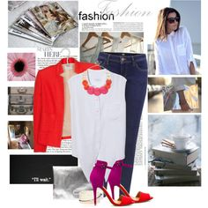 daily fashion,   think I'd change the heels to something a bit more comfy but love this look for us that are young at heart