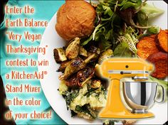 Win a KitchenAid Stand Mixer in our Very Vegan Thanksgiving Contest!