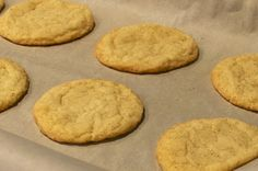 Current Habits: In the Kitchen: Snickerdoodles