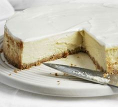 Angela Nilsen rises to the ultimate challenge - keeping a cheesecake creamy and decadent while making it healthier and lighter