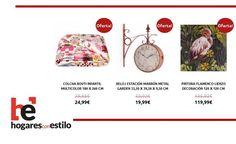 #ofertas de hoy en hogaresconestilo.com #home #hogar #estilo #deco #decoración #estilo