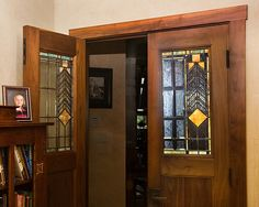 Leaded Glass Doors Home Design Ideas, Pictures, Remodel and Decor