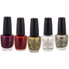 OPI Nail Polish Mariah Carey Winter Collection ($7.99) ❤ liked on Polyvore featuring beauty products, nail care, nail polish and formaldehyde free nail polish