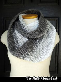 The North Meadow Cowl knitting pattern by AuntJanetsDesigns