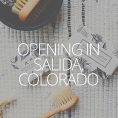 We are opening a new store in Salida, Colorado! Salida Colorado, Blog, Blogging