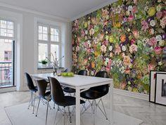 A+favorite+wallpaper+from+Rebel+Walls,+Meadow,+Color!+#rebelwalls+#wallpaper+#wallmurals
