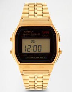 Enlarge Casio A159WGEA-1EF Gold Digital Watch