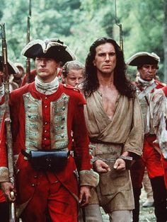 The Last of the Mohicans directed by Michael Mann, starring Daniel Day-Lewis, Russell Means, Wes Studi and Madeleine Stowe. Novel by James Fenimore Cooper Epic Movie, Film Movie, Great Movies, Great Books, Movies Costumes, Hawkeye, Eric Schweig, Daniel Day, Day Lewis