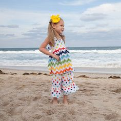 Check out this Rainbow Chevron Dot Halter Tie Back Capri Set or find your favorite gifts at Lolly Wolly Doodle. Click on the link to receive $39 off your next order!