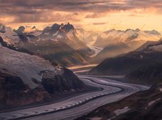 Ice River Mountains by Marc  Adamus on 500px