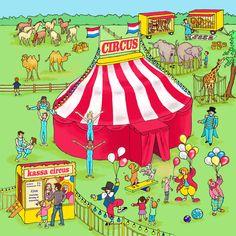 Praatplaat circus