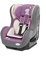 Tiny Tatty Teddy Group 0+1 Car Seat Pink