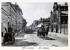 Turku / Postcard Turku, Finland late or early Old City, Helsinki, Old Pictures, Vintage Postcards, Denmark, Norway, Picture Video, The Good Place, Beautiful Places