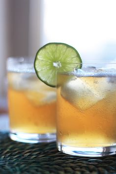Moscow Mule: vodka, lime & ginger beer. Sounds like the Cucumber Chiller at Preserve in Winters, CA.