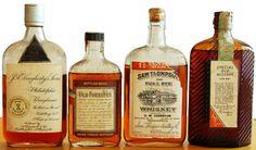 Pre-Prohibition American Whiskeys