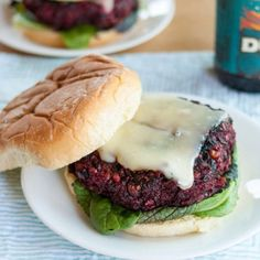 Beet and bean burger.Most people turn up their nose at beets, but the root vegetable makes for a delicious burger base. And while you'll find beet burger recipes all over the internet, the team at The Kitchn has perfected this recipe over the past six years based on readers real trial-and-error feedback. You grate roasted beets, mix with brown rice and a heaping portion of black beans for both flavor and binding, and add a dash of smoked paprika to round out the flavor profile.