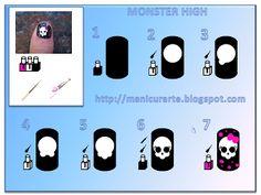 Monster High Nails   Nail Art Gallery Manicurarte