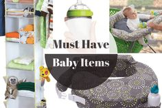 A list of must have baby items that will make your like easier!