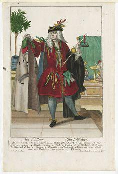 Tailor, Martin Engelbrecht, ca. 1730; Winterthur 1955.135.1