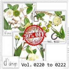 Vol. 0220 to 0222 - Nature Mix  by Doudou's Design  #CUdigitals cudigitals.com cu commercial digital scrap #digiscrap scrapbook graphics