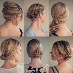 i wish i knew how to style my hair like this...