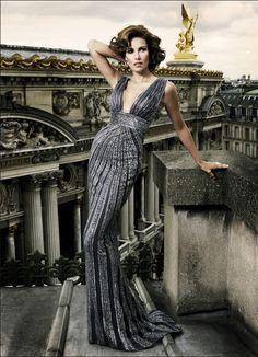 Glamorous Evening Dresses-Haute Couture by Mario Sierra ‹ ALL FOR FASHION DESIGN