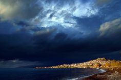 Molyvos, Lesvos before the Storm