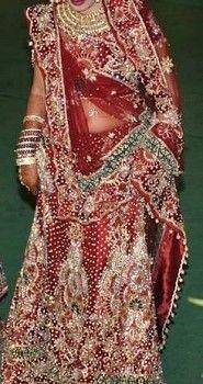Indian Bride Wedding Lehenga Dress - Appliances | MaxDeal India