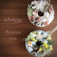 ◎ You can choose the fragrance ◎ Marine wax lease | candle | mimosa | Handmade mail order · sale Creema