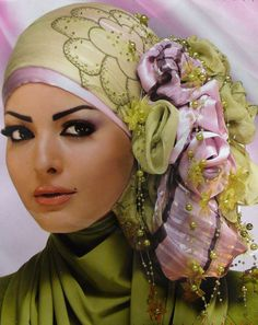 trendy hijab - might take some practice