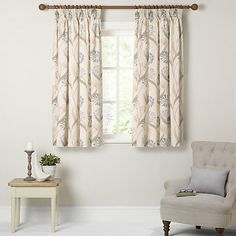 Buy Cassis Maggie Levien for John Lewis Ariana Lined Pencil Pleat Curtains, x Drop from our Ready Made Curtains & Voiles range at John Lewis. Cream Living Rooms, Pleated Curtains, Pencil Pleat, Kitchen Curtains, Soft Furnishings, John Lewis, Bedroom Decor, Egg, Tamworth
