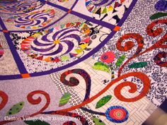 Karen K Stone Paper Patterns | Karen used a mix of patterns from Piece O' Cake Designs to create this ...