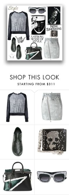 """""""A strong sense of style"""" by zabead ❤ liked on Polyvore featuring Cristiano Burani, Dsquared2, Marsèll, Alexander McQueen, Maison Margiela, CO and Anna-Karin Karlsson"""