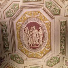 Museu do Vaticano, teto