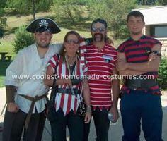 pirate costume homemade - Google Search