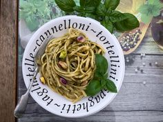 This pistachio, basil and feta pesto has a very delicate and smooth flavour. Perfect with pasta and in salads. via @pinterest.co.uk/MaryamSinaiee1