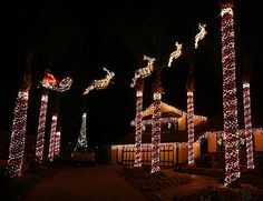 Crazy Christmas Lights: 15 Extremely Over-the-Top Outdoor Displays via Brit + Co.