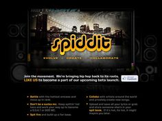 @spiddit Launch is coming soon.
