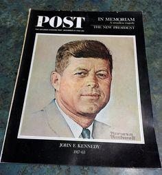 Vintage December 14 1963 Post Magazine John F. by LeftoverStuff