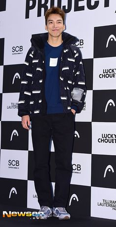do sang woo 도상우 at HEAD winter ski collaboration project product launches 11.05.2015